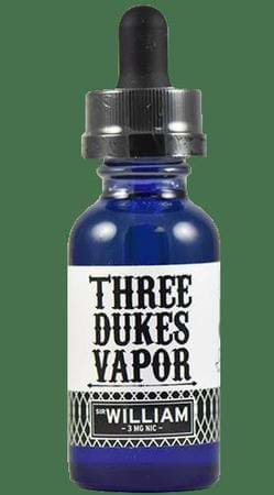 Three Dukes Vapor Sir William E-Juice Flavor