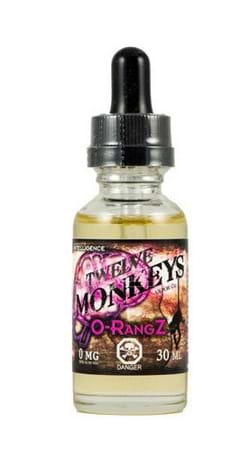 Twelve Monkeys Vapor O-RangZ E-Juice Flavor
