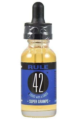Super Gramps by Rule 42 Eliquid