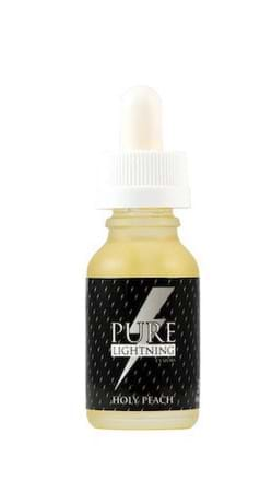 Pure Lightning Holy Peach E-Juice Flavor