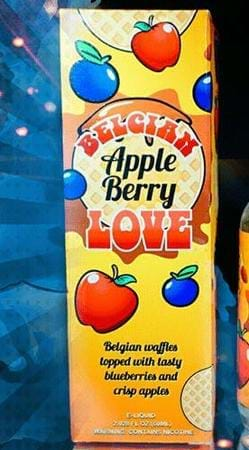 Belgian Apple Berry Love by Belgian Apple Berry Love