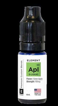 Element Traditionals Green Apple E-Juice Flavor