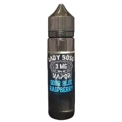 Sour Blue Raspberry by Lady Boss Vapor