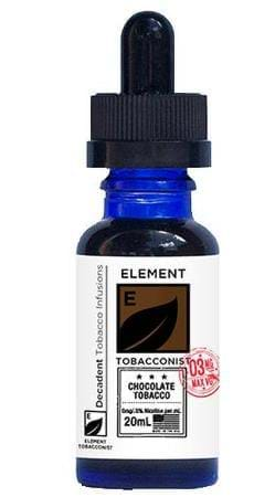 Tobacconist by Element Chocolate Tobacco