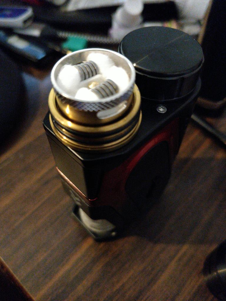 Photo of CAPO SRDA Squonk 100W TC Vape Starter Kit w/20700 Battery by Patrick