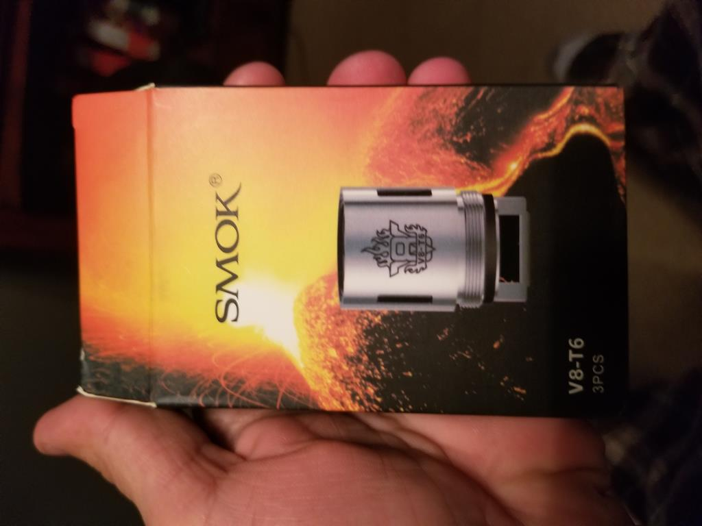 Photo of SMOK TFV8 Replacement Coils (3-Pack) by Matthew