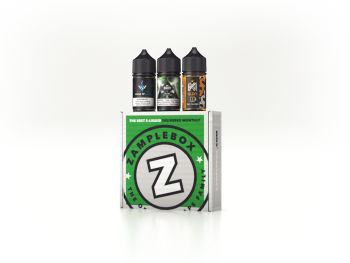 ZampleBox Vape Box Subscription 3 Bottle Box
