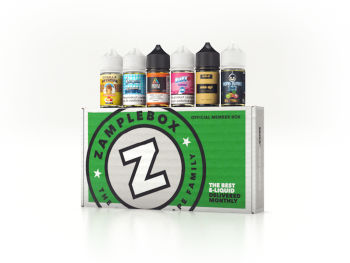 ZampleBox Vape Box Subscription 6 Bottle Box