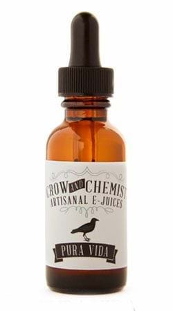 Crow and Chemist Pura Vida E-Juice Flavor