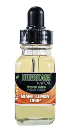 Hurricane Vapor Miami Lemon Drop E-Juice Flavor