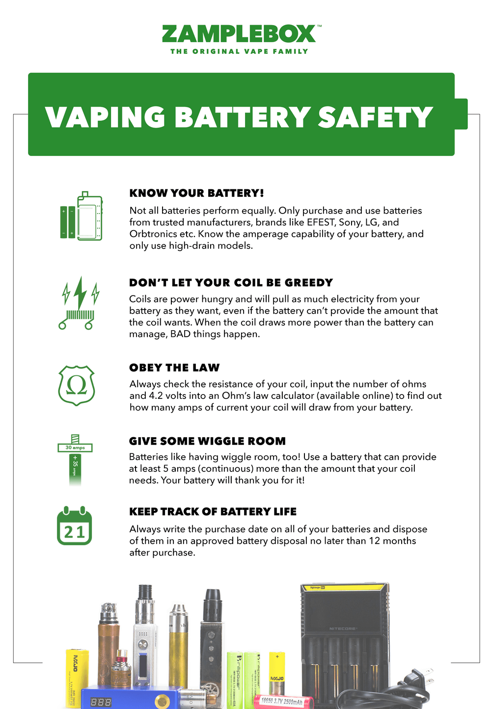 vaping battery safety guide